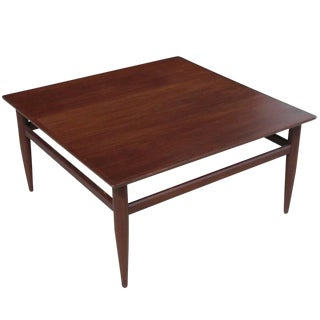 Vintage Mid-Century Henredon Heritage Coffee Table For Sale