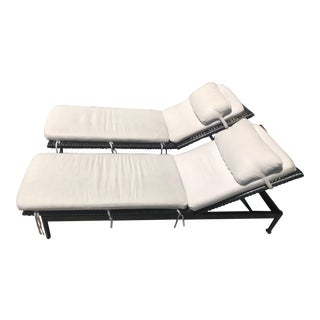 McGuire Antalya Chaise Lounges-a Pair For Sale