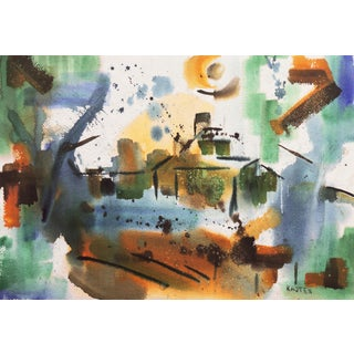 Abstracted Landscape by Karl Kasten, Circa 1965 For Sale