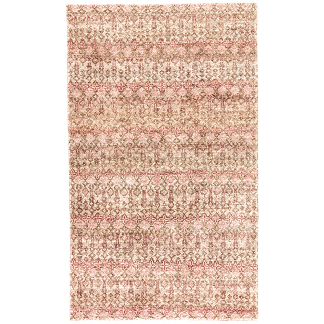 Jaipur Living Cane Hand-Knotted Geometric Brown/ Red Area Rug - 5′ × 8′ For Sale In Atlanta - Image 6 of 6