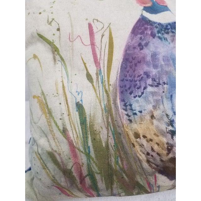 Farmhouse Game Bird Lumbar Pillow For Sale - Image 3 of 13