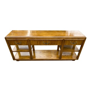 Campaign Drexel Accolade Console Table For Sale