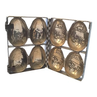 1930's Easter Egg Chocolate Mold For Sale