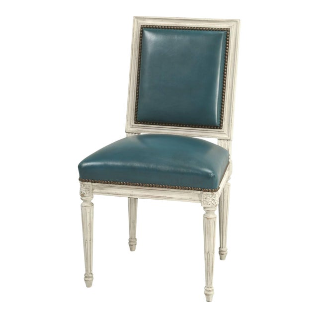 Shown in our listing here, is a set of six French Louis XVI handmade dining chair, but we also have sets available in any...