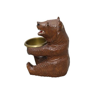 Antique Black Forest Bear Ashtray Preview
