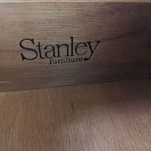 Wood Stanley Furniture Traditional Wooden Chest For Sale - Image 7 of 10