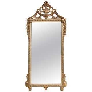 Louis XVI Pier Mirror For Sale