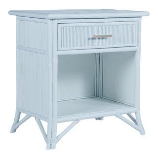 Aruba One-Drawer Nightstand - Blue For Sale