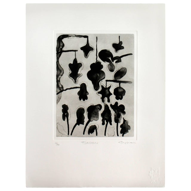 Unframed Lithograph Signed Gary Stephen Tjaden Numbered 13/48 For Sale In Detroit - Image 6 of 6