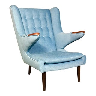 Scandinavian Lounge Chair in the Papa Bear Style, circa 1970