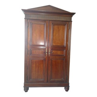 Bernhardt Solid Wood Armoire For Sale