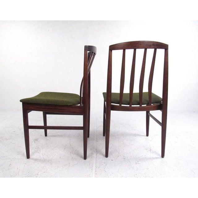 Wood Mid-Century Modern Vamo Sonderborg Rosewood Dining Set For Sale - Image 7 of 11