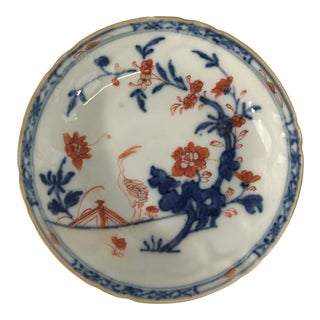 Small Imari Porcelain Dish With Bird For Sale