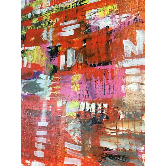 Jonathon Ernst Abstract Painting on Canvas - Image 5 of 5