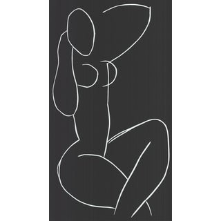 1995 Henri Matisse 'Seated Nude, With Legs Crossed' Serigraph For Sale