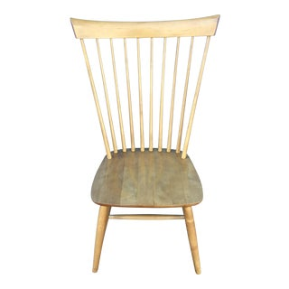 Ethan Allen High Comb Spindle Back Chair For Sale