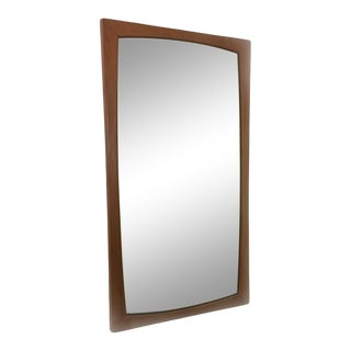 Kai Kristiansen Danish Modern Teak Mirror For Sale