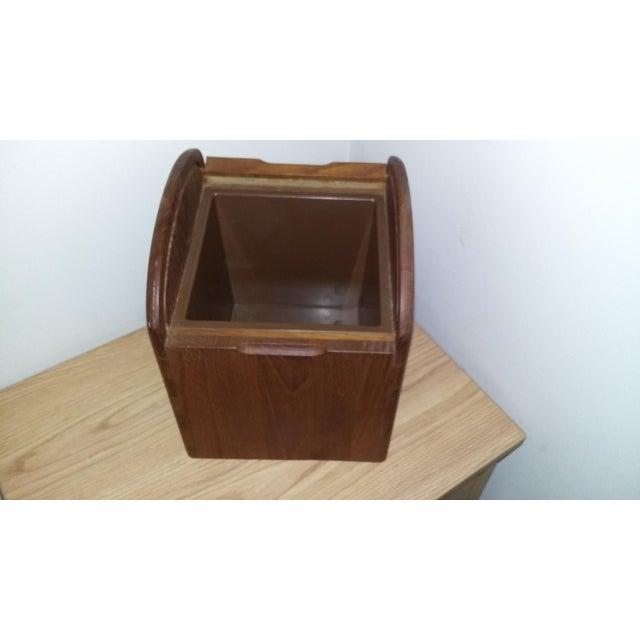 Kalmar Vintage Kalmar Designs Teak Ice Bucket. For Sale - Image 4 of 9