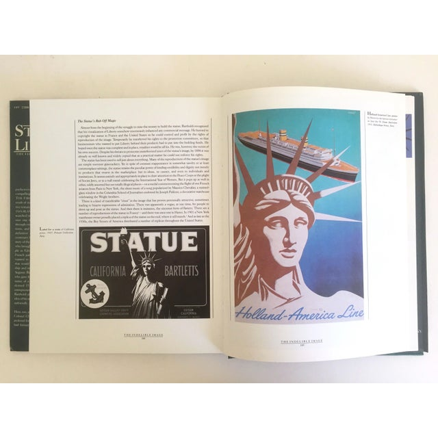 "Cardboard "" Statue of Liberty the 1st 100 Years "" Vintage 1985 Architecture Heritage Large Collector Book For Sale - Image 7 of 11"