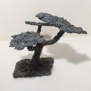 Modern Hand Made Welding Rod & Slag Bonsai Tree Sculpture Preview