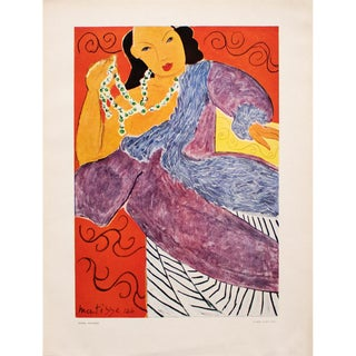 "1948 Matisse ""Asia"", Original Period French Lithograph For Sale"