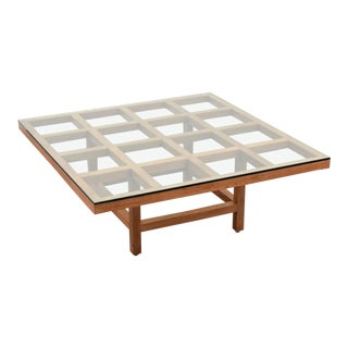 Mid-Century Modern Sol Lewitt Coffee Table For Sale