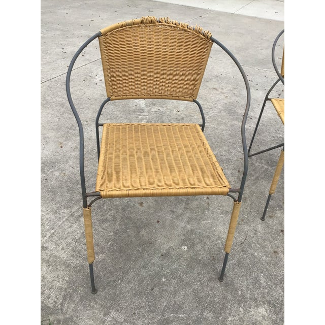 Maurizio Tempestini by Salterini Patio Table Chairs Dining Patio Last Call For Sale In Cleveland - Image 6 of 13