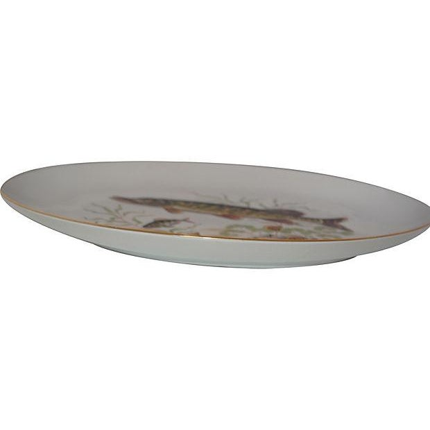 Bone China Fish Platter - Image 2 of 3