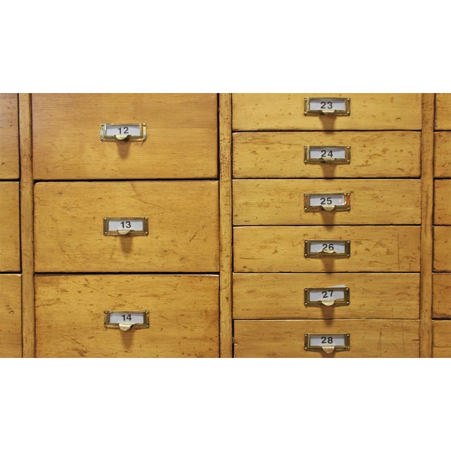 Vintage Pine Multi Drawer Cabinet - Image 4 of 4