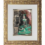 """Image of Pablo Picasso Lithograph Limited Edition """"Jacqueline"""", Framed Print For Sale"""