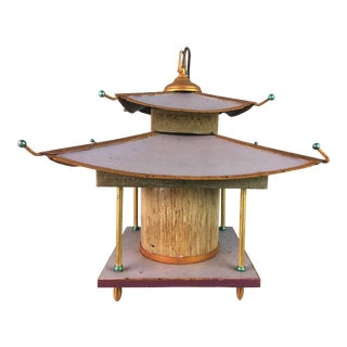 1970s Pagoda Chandelier For Sale