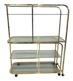 Image of Milo Baughman Bar Carts and Dry Bars