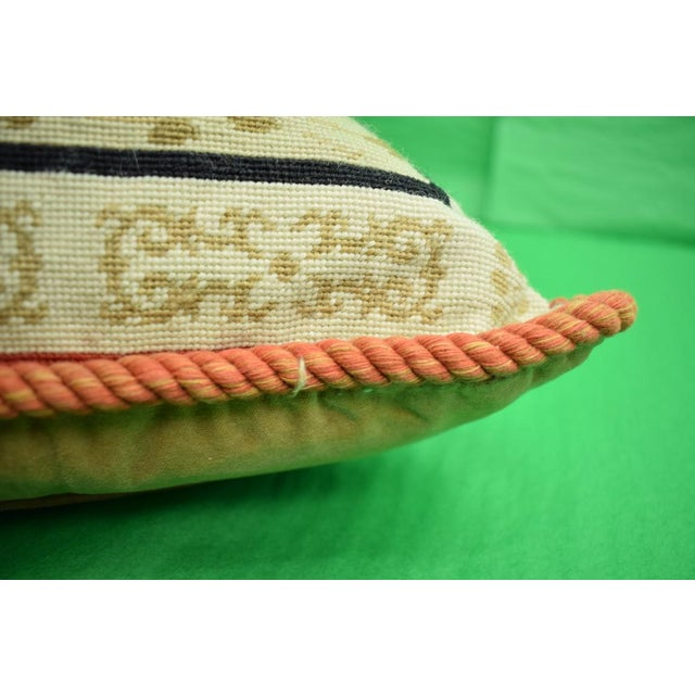 Equestrian Petit-Point Pillows - A Pair For Sale In New York - Image 6 of 6
