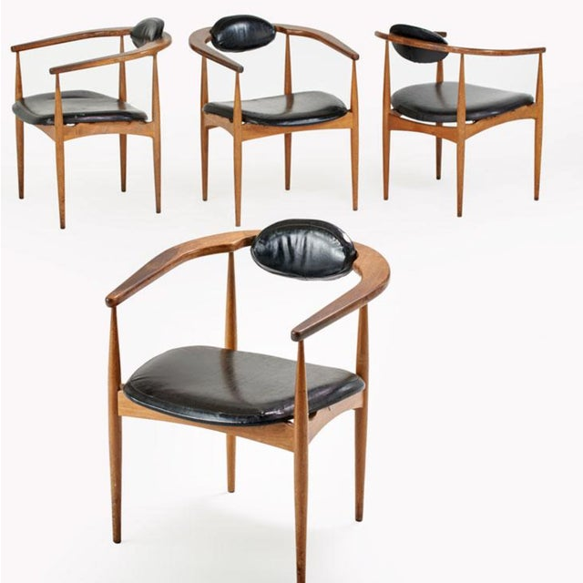 Adrian Pearsall Style 950-C Chairs - Set of 4 - Image 2 of 4