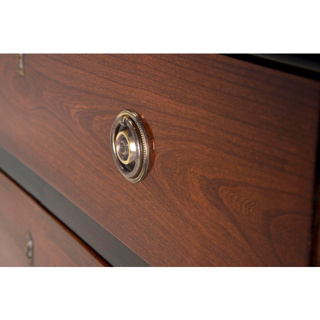 Pair Mahogany Chests With Black Detailing - Image 9 of 11