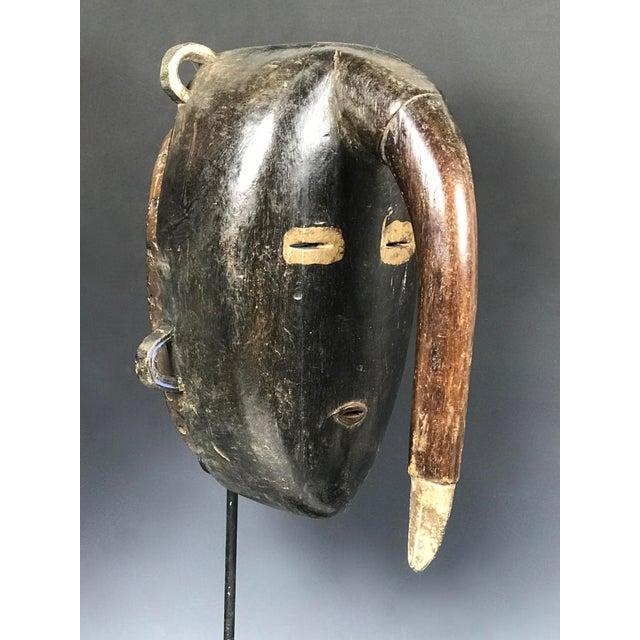 White African Tribal Art Kulango Mask From Ivory Coast For Sale - Image 8 of 11