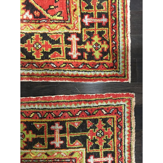1930s Turkish Oushak Runners - A Pair - Image 10 of 10