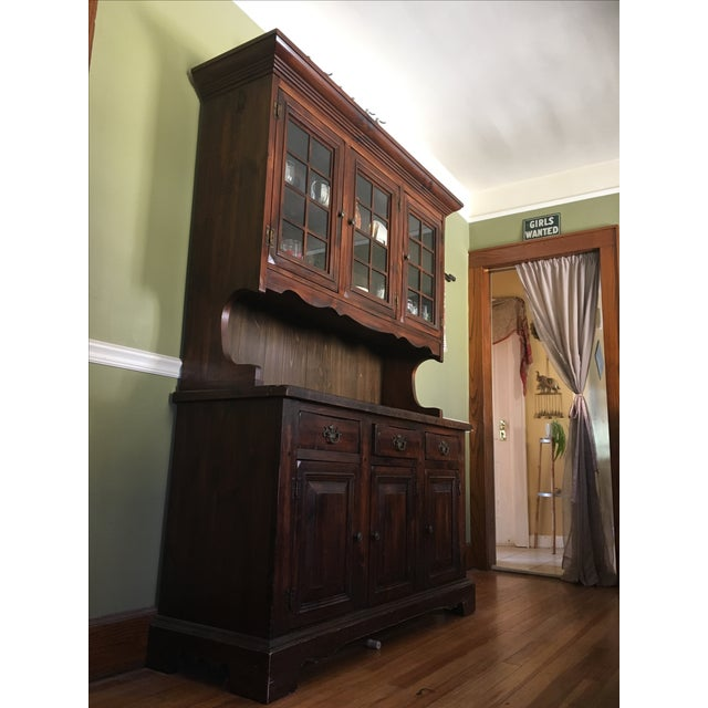 1970s Vintage Dining Room Hutch - Image 3 of 7