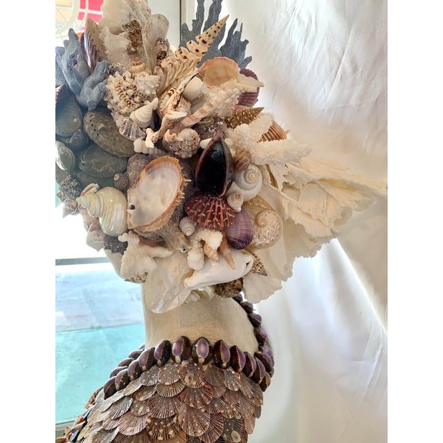 Camel La Sirena Seashell Bust For Sale - Image 8 of 11