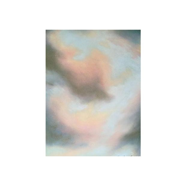 Robert Jones 'Clouds in Bali' Pastel Painting - Image 3 of 5