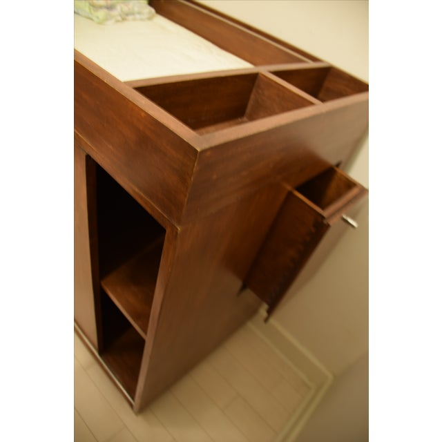 Mid-Century Dresser W/ Removable Changing Table - Image 3 of 4