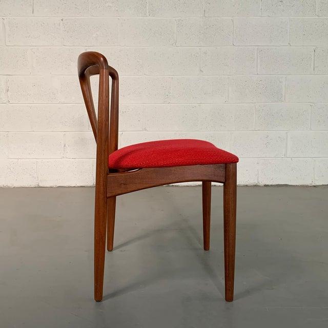 "Mid 20th Century Vintage Mid Century Danish Modern Teak ""Juliane"" Chair For Sale - Image 5 of 10"