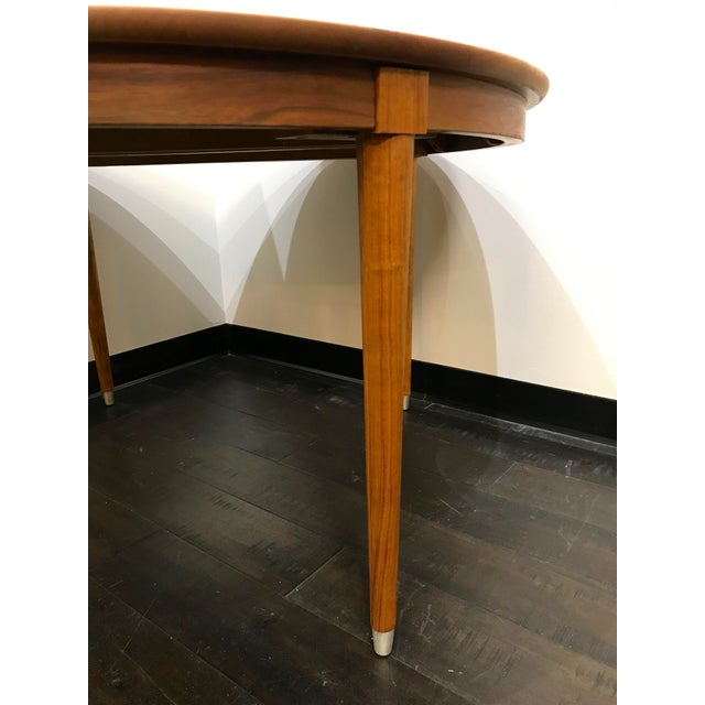 Mid 20th Century Mid-Century Modern B P John Wood Dining Table For Sale - Image 5 of 12