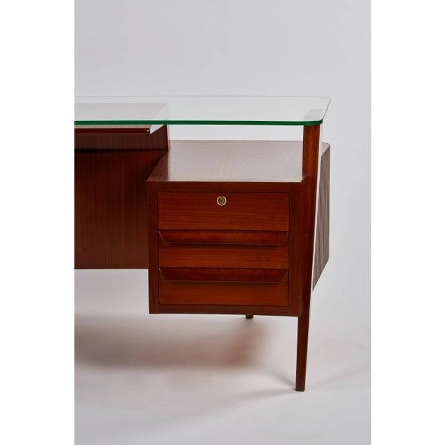 Brown Rare Carlo De Carli Desk For Sale - Image 8 of 11