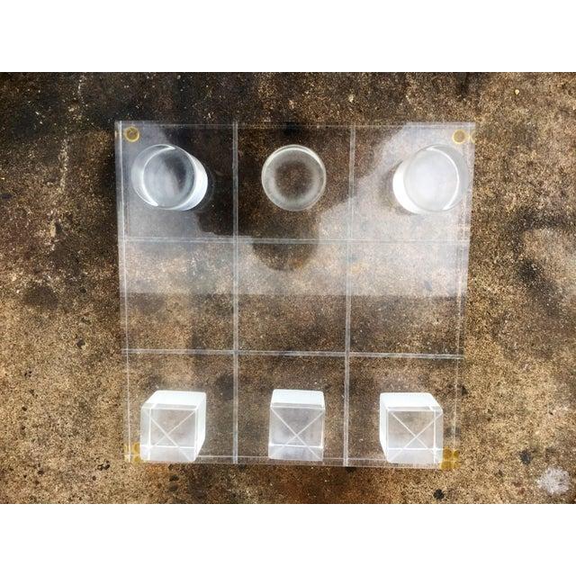 2b9c53ee38 Van Teal Van Teal Lucite Tic Tac Toe For Sale - Image 4 of 9