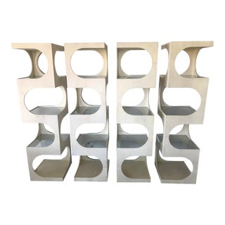 Mid Century Modern Etageres by Edward Wormley - Set of 4 For Sale