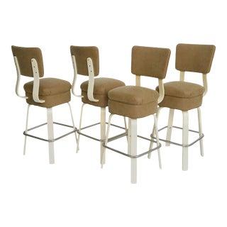 Thonet Swiveling Bar Stools/Joe Atkinson Design - Set of 4 For Sale
