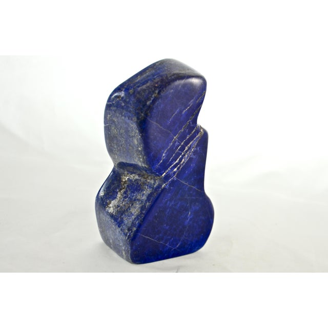 Carved Lapis Display For Sale In Chicago - Image 6 of 6