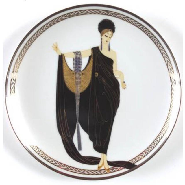 House of Érte Glamour Collectible Plate - Image 2 of 7
