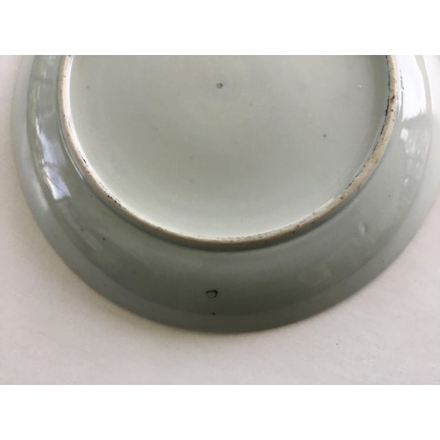 Early 19th Century Chinese Export Plate For Sale - Image 4 of 11